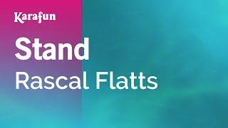 Karaoke Stand - Rascal Flatts *