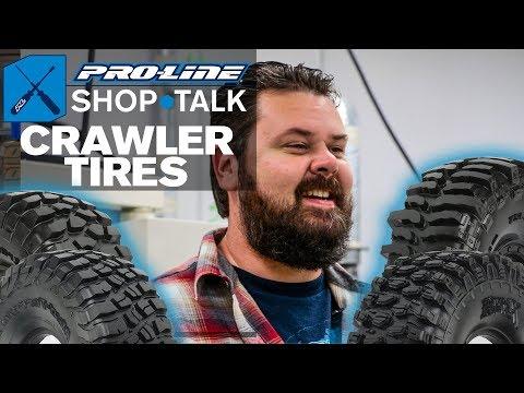 Pro-Line SHOP TALK: Ep. 10 - Crawler Tires