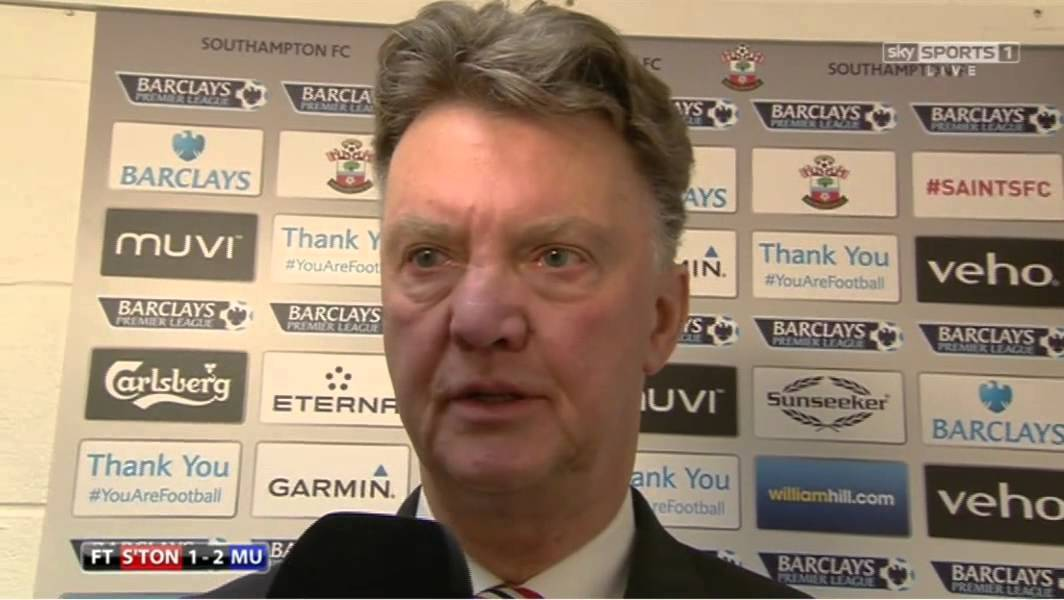 Van Gaal Post-match Interview After Vs Southampton