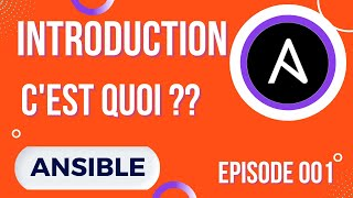 Miniature catégorie - ANSIBLE - 1. INTRODUCTION ET PRESENTATION