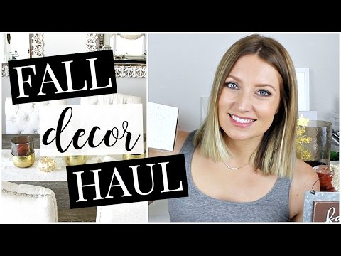 Fall Decor Haul (Marshalls) | Kendra Atkins