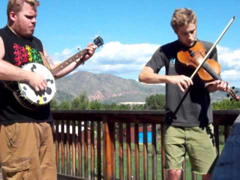 Western Country - Fiddle and banjo.