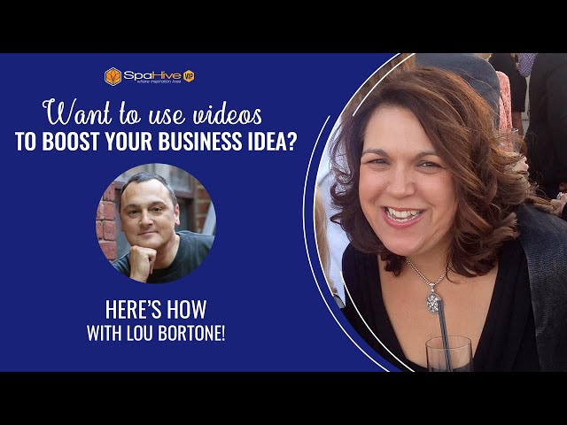 How to use video in your business with Lou Bortone!