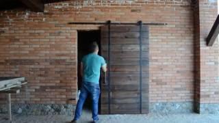 видео Двери на роликах