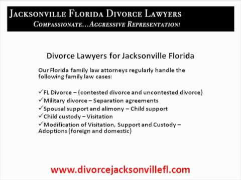 Divorce Lawyers Jacksonville Florida
