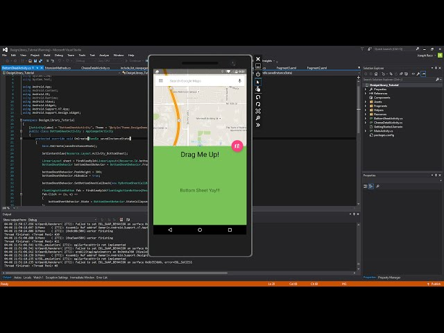 Xamarin Android Tutorial 85 Design Library Pt 7