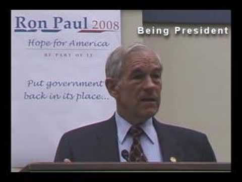 Ron Paul, Talks About Working With Congress.