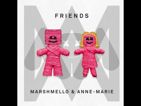 Friends (Clean Radio Edit) (Audio) - Marshmello & Anne-Marie