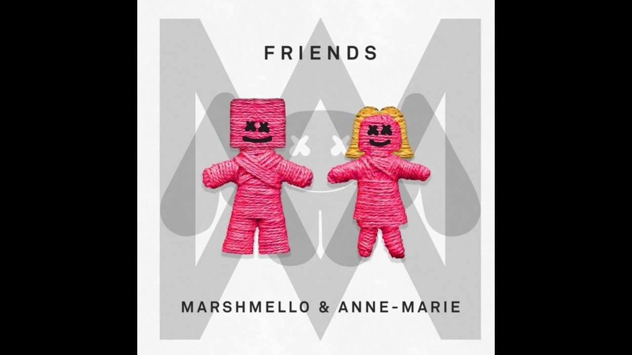 Marshmello marie friends
