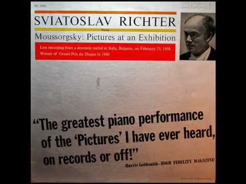 Mussorgsky / S Richter, Sofia, 1958: Pictures At An Exhibition - Original Vinyl LP Recording