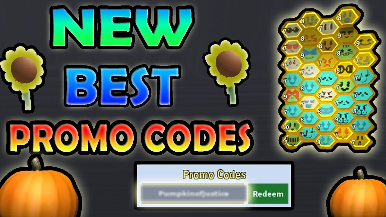 *NEW* BEST PROMO CODES!!! ( 7MIL HONEY / MIN )- Roblox Bee ...