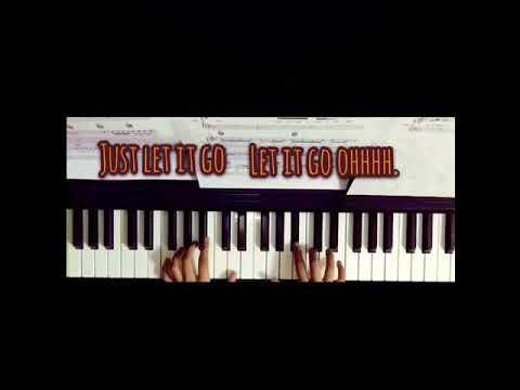 ISMAIL IZZANI - SABAR PIANO TUTORIAL (KARAOKE LYRICS)