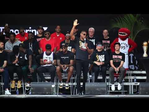 'You deserve this': Drake hails Raptors fans, confirms return of OVO Fest