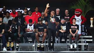 TORONTO WOOS KAWHI: We the North