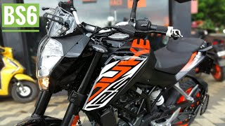 2020 KTM 125 Duke BS6 launched; priced at Rs 1.38 lakhs | Walkaround