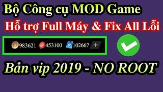 Share bộ công cụ hỗ trợ MOD Game bản VIP trên Android NO ROOT Hỗ trợ Full Máy - MOD Revo Fix All Lỗi
