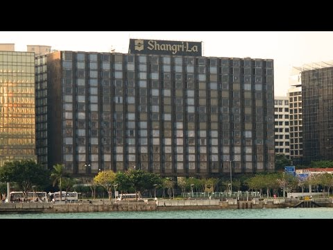 Hong Kong luxury hotel room tour - Kowloon Shangri-La