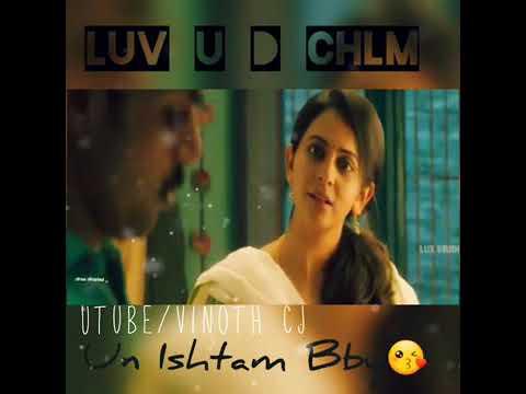Tamil love whatsapp status| dheeran movie love dialogue♡
