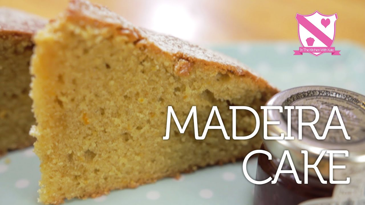 Madeira Cake Recipe In The Kitchen With Kate