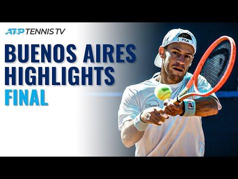 Diego Schwartzman vs Francisco Cerundolo in All-Argentine Final | Buenos Aires 2021 Final Highlights