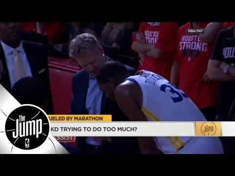Richard Jefferson calls Steve Kerr's Game 5 message to Kevin Durant 'amazing' | The Jump | ESPN