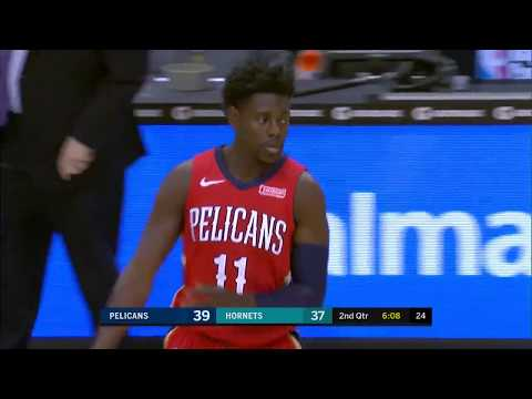 Jrue Holiday with 19 at Charlotte Hornets - 1/24/18