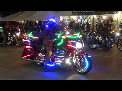 Sturgis at Night - ELITE Tours 2017