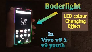 Border Light For All Device (OPPO :A3S,A7,F9,A83),(Vivo