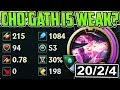 CHO'GATH IS WEAK? NOT THIS MONSTER | Full Magic Pen Cho'Gath Season 8 Unranked to Challenger #04