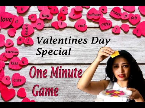 Valentines Day Kitty Party Game Youtube