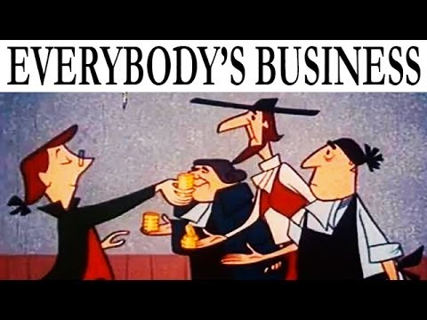 It's Everybody's Business | Cold War Era Propaganda Cartoon on Capitalism & Free Enterprise | 1954
