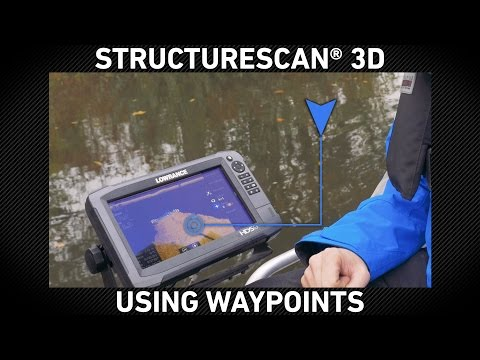 StructureScan 3D Using Waypoints