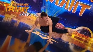 Circus performer! What will the Judges say? - Got Talent 2017
