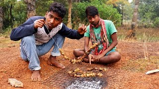Cooking Chicken and Eating Delicious