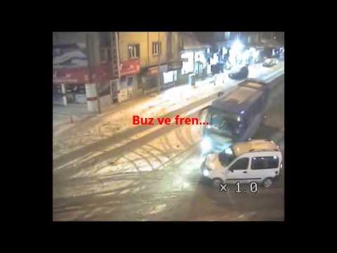 ERZURUM'DA TRAFİK KAZALARI