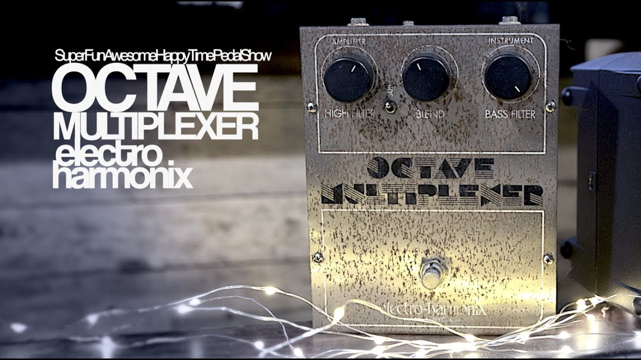 electro harmonix ehx octave multiplexer on guitar and bass youtube. Black Bedroom Furniture Sets. Home Design Ideas
