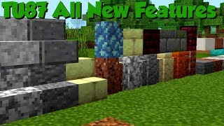 Minecraft PS4 New UPDATE - TU87 All Features + New Mashup!!