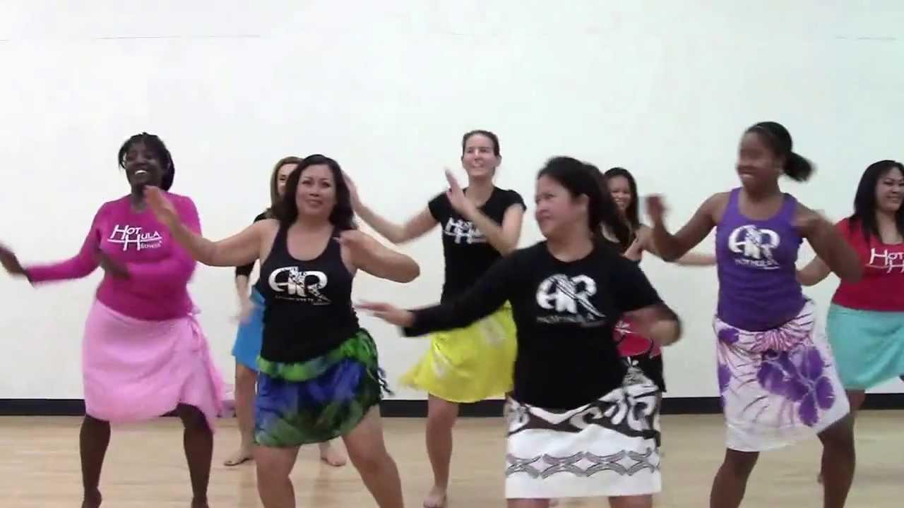 HOT HULA fitness Dance Workout - Week 3 - Part 2
