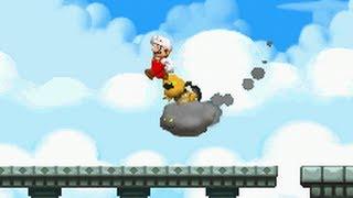 New Super Mario Bros. (DS) 100% Walkthrough - World 7 (All S...