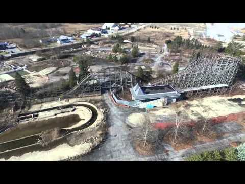 Geauga Lake Drone Footage