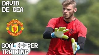 vuclip David De Gea / Goalkeeper Training / Manchester United !