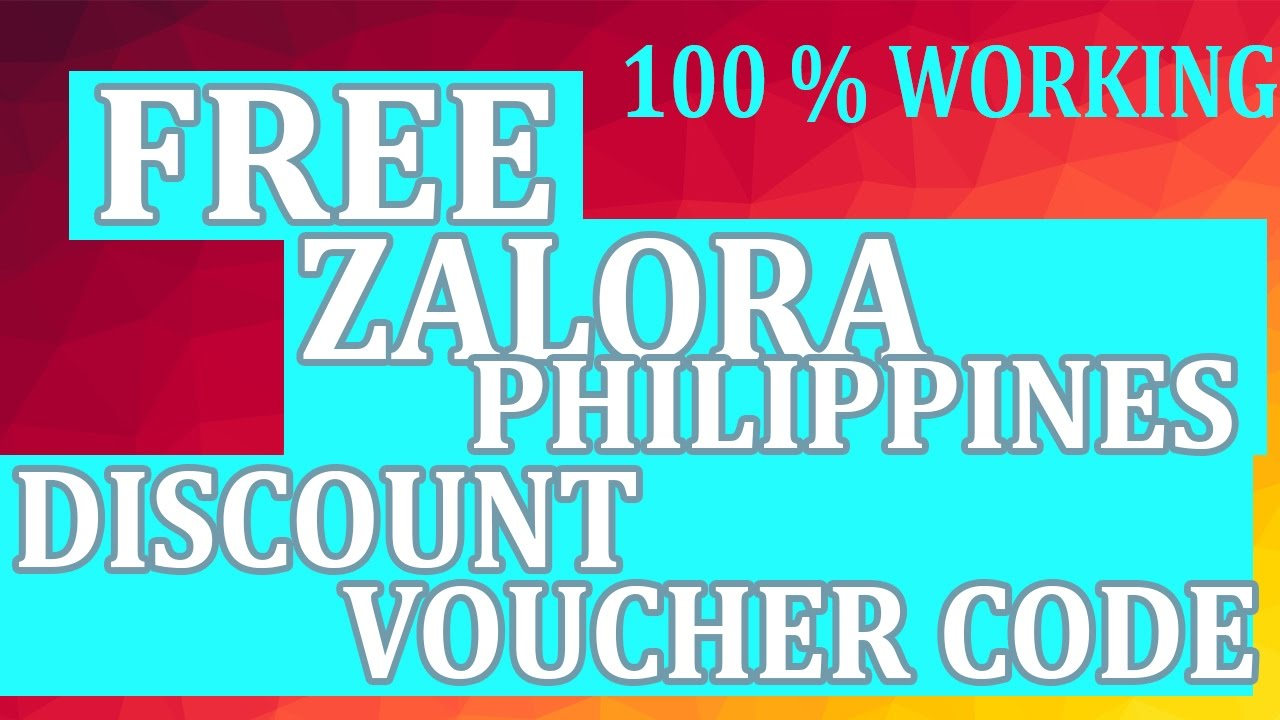 Zalora Ph Discount Hack Voucher Code Up To 1000pesos Youtube