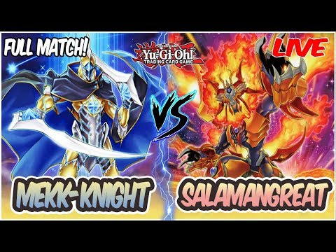 YuGiOh! Live Duel: Salamangreat Vs Mekk-Knight Chaos Control! |INSANE MATCH!|