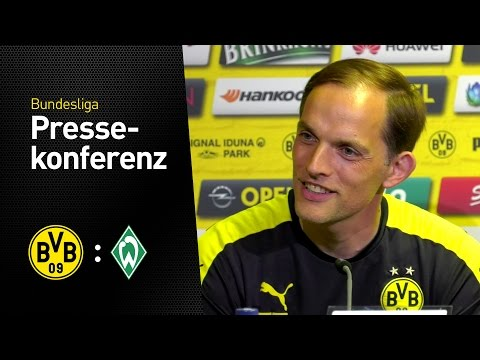 PK Thomas Tuchel: Wir wollen mit den Fans einen Top-Schlusspunkt setzen | BVB - Werder Bremen