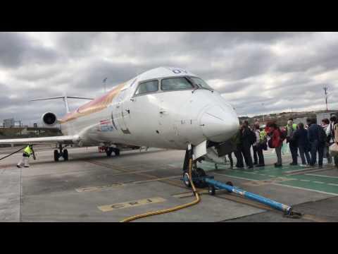 Trip Report: Air Nostrum (Iberia) Business Class, CRJ1000, Madrid-Malaga
