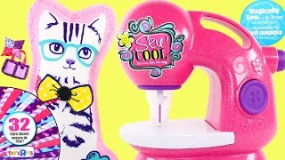 Sew Cool NO THREAD Deluxe Sewing Studio *** Kids Toy Sewing Machine