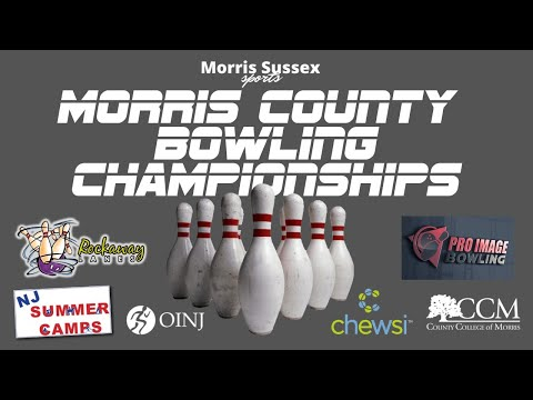 LIVE BROADCAST:  Morris County Bowling Championships