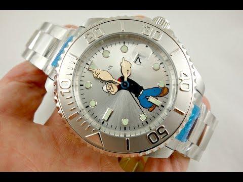 Invicta Disney POPEYE Grand Diver Edition Watch Model 24469