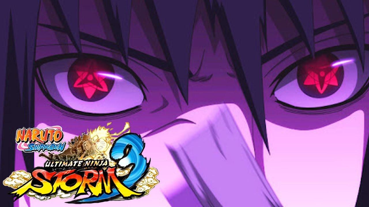 Naruto Shippuden Sasuke Eternal Mangekyou Sharingan ...