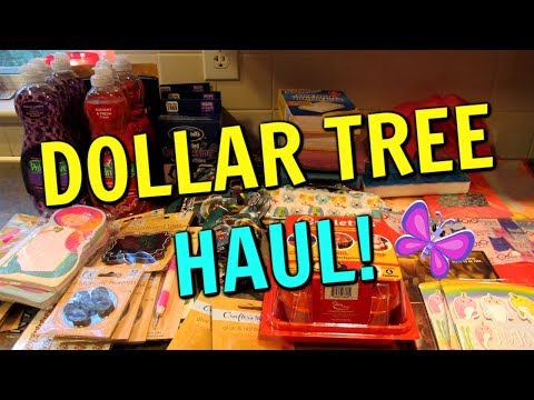 DOLLAR TREE HAUL! New Craft Items! Stickers! TOWSON, MD Store | September 27, 2019 | LeighsHome
